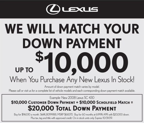 Lexus Match