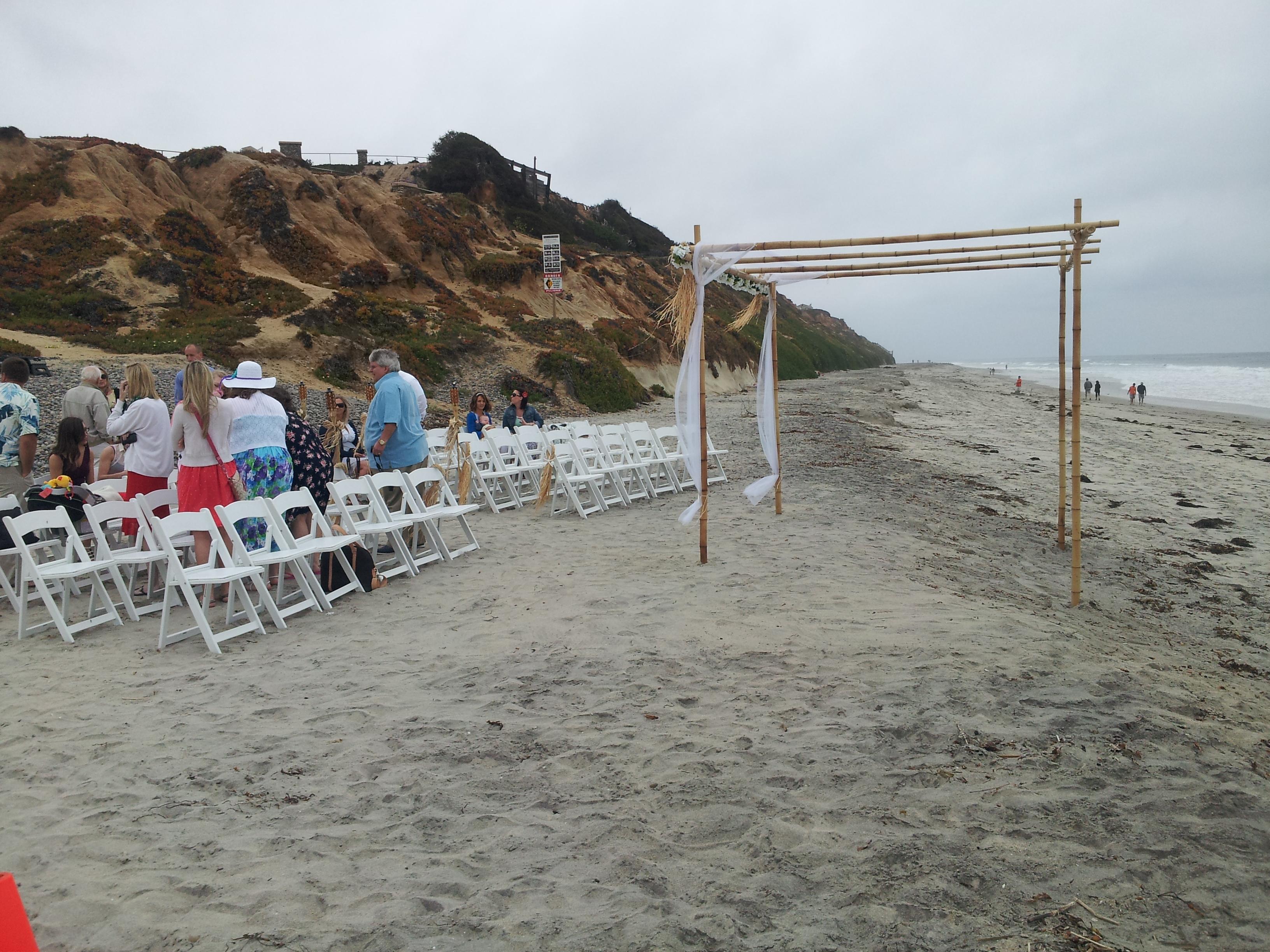 south ponto beach wedding � mini bridal