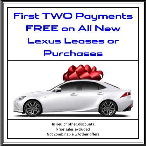 Lexus First 2 Payments