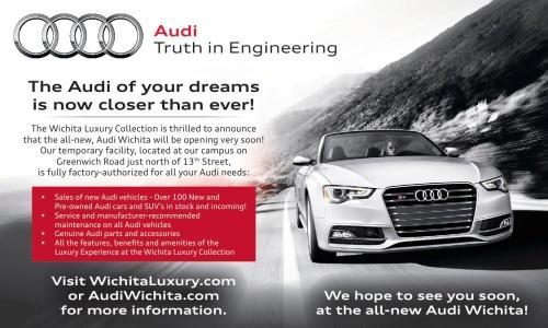 Audi Pre-Open e-Mail