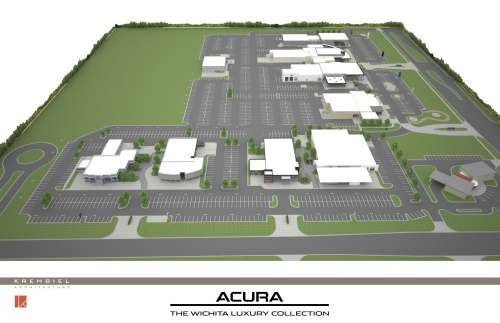 Site Plan Acura Closer